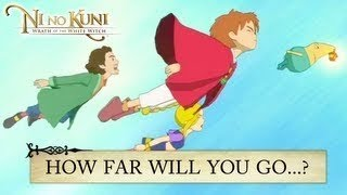 Ni no Kuni: Wrath of the White Witch - PS3 - How far will you go to save someone you love?