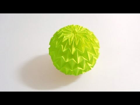 Origami Magic Ball Tutorial (Yuri Shumakov) HD!