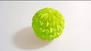 Origami Magic Ball Tutorial (Yuri Shumakov) HD!