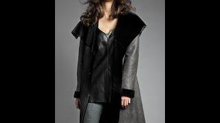 Женские Модные Дубленки - фото - 2018 / Women's coats