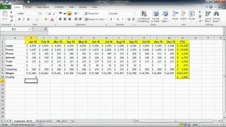 Microsoft excel Auditing Calculated Values.wmv