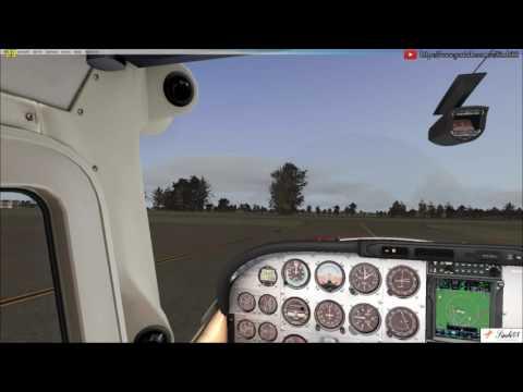(FSX) (Vatsim) Flightsim Iceland group flight Wick (EGPC) - Isle of Man (EGNS)  A2A C182