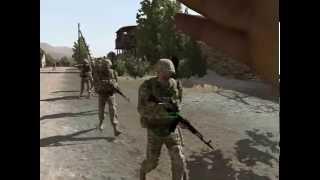 Arma 2 WOG Отправление группы в зону боевых действий.