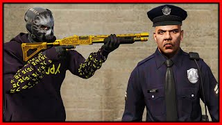 GTA 5 Roleplay - HITMAN HUNTING COPS  | RedlineRP
