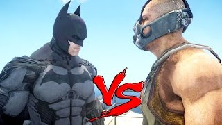 BATMAN VS BANE - EPIC BATTLE
