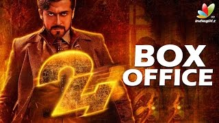24 Worldwide  Box Office Collection | Surya, Samantha, AR.Rahman