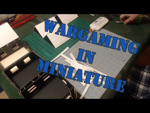 Wargaming in Miniature Building 28mm Row Houses Pt 3 Shingles