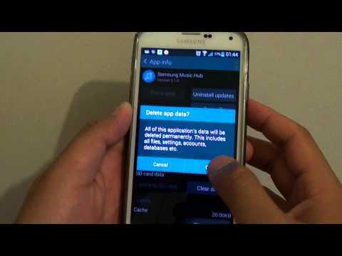 Samsung Galaxy S5: Fix Issue With Music Hub Crashing