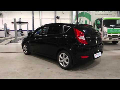 Hyundai Solaris черный хетчбек