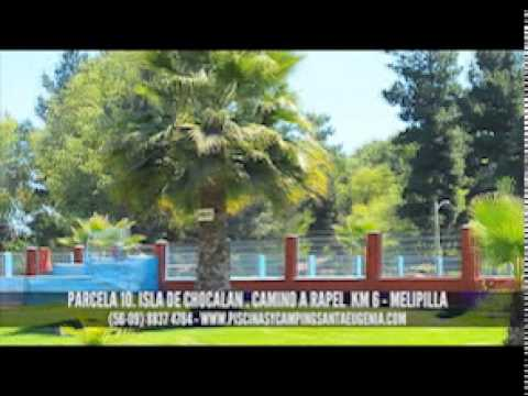 Piscinas y camping santa eugenia youtube for Piscina santa eugenia