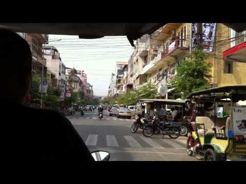 Werner Kreis in Cambodia: City Tour in Phnom Penh