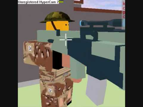 ROBLOX First Person Shooter Army Mission [REALISTIC]