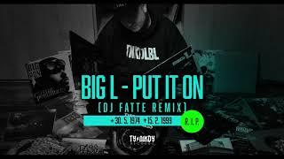 Big L - Put It On (DJ Fatte remix)