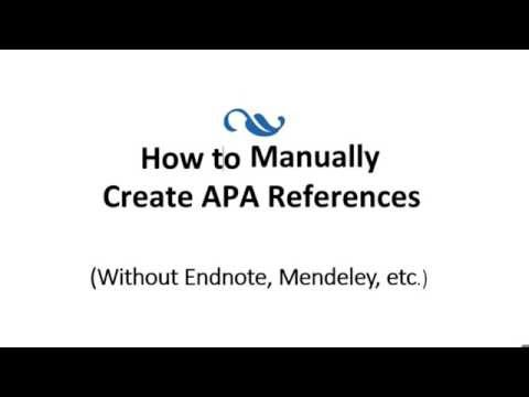How to cite a journal article found online in APA format.. Simple method