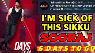 race 3 6 days to go for release motion poster review saqib saleem in as sooraj