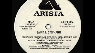 Saint & Stephanie - I Hear A Symphony [disco 1979]