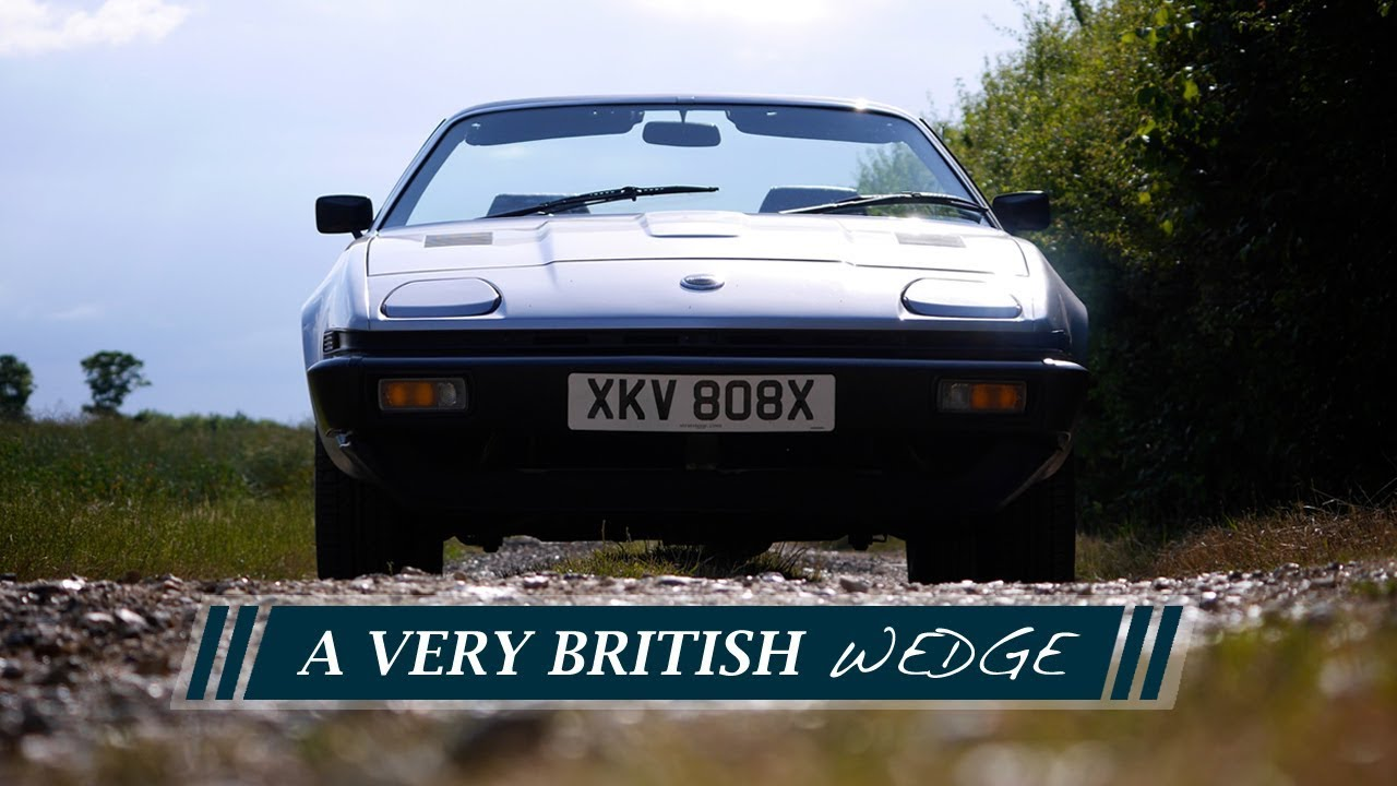 A Very British Wedge The Triumph Tr7 Youtube