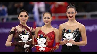 Winter Olympics figure skating: how Alina Zagitova beat Evgenia Medvedeva