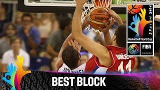 Egypt v Serbia - Best Block - 2014 FIBA Basketball World Cup
