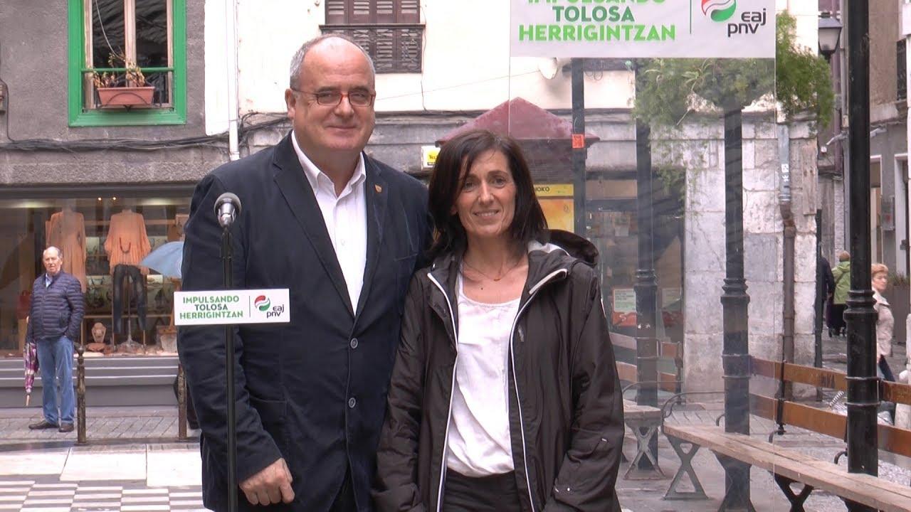 Olatz Peon izango da Tolosako EAJren alkategaia  2019ko udal hauteskundeetan
