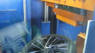 Тест на удар (обод) - колесные литые диски на Saab. WSP Italy W1152 NEMO