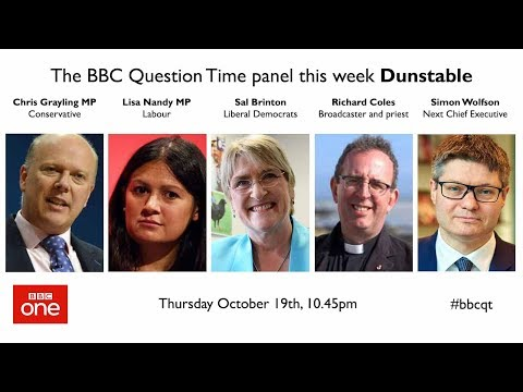Question Time 19/10/17: Weinstein, Universal Credit, Brexit deal, NHS rationing