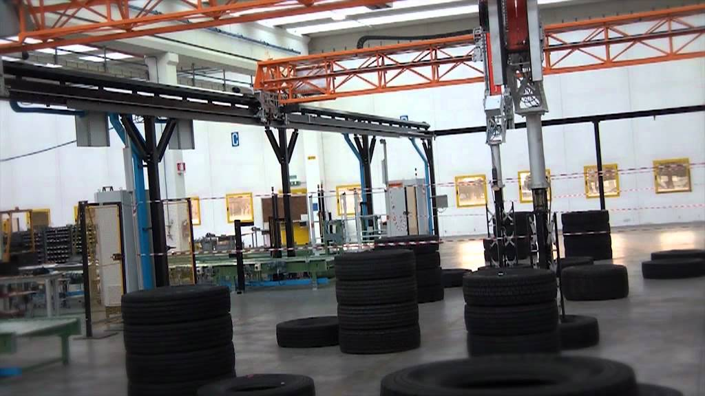 Large Skilled Gantry Robot for Tires (Europe)