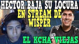 HECTOR BAJA SU LOCURA EN STREAM DE WISPER - DOTA 2