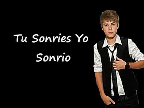 U Smile - Justin Bieber Traducida Al Español
