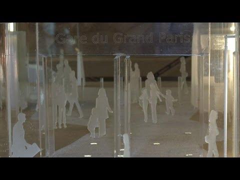 Les gares futuristes du Grand Paris Express