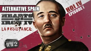 What if the Spanish Fascists Lost the Civil War? - WW2 feat. Hearts of Iron IV [sponsored]