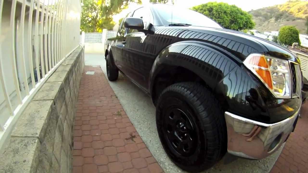 Nissan Frontier Lift Tire Size U003eu003e 09 NISSAN FRONTIER LIFTED   YouTube
