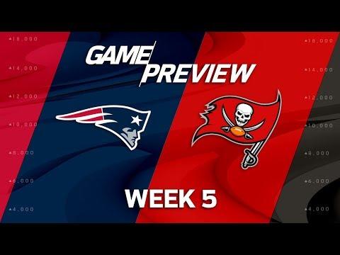 New England Patriots vs. Tampa Bay Buccaneers | Week 5 Game Preview | NFL Playbook