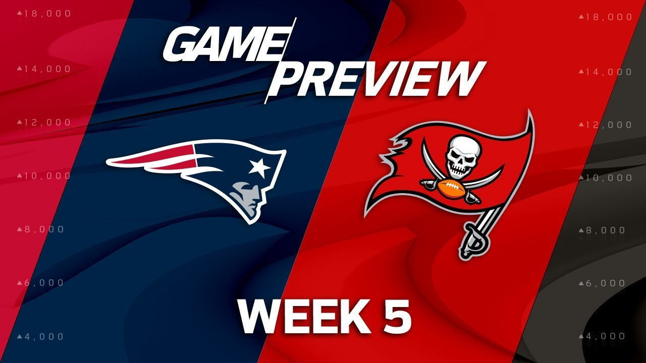 Tampa Bay Buccaneers Vs. New England Patriots: Thursday Night Football Week 5 ...
