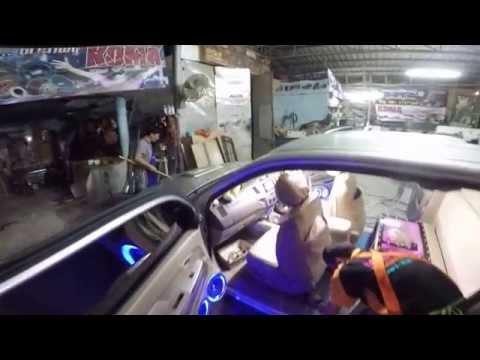 """ิVigo Smart Cab น้าอ้น ตู้ 10""""  แผงซาวด์ประตู 864"""