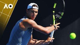 Nadal Wastes No Time In Australian Open Preparations | Australian Open 2017
