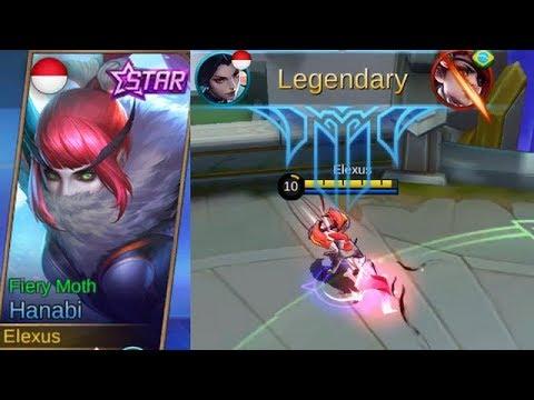Hanabi Starlight Skin (April) FIERY MOTH Full Legendary ...