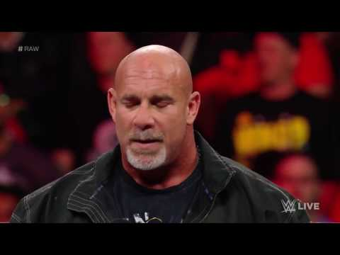 Goldberg in 2017 Royal Rumble Match - Raw