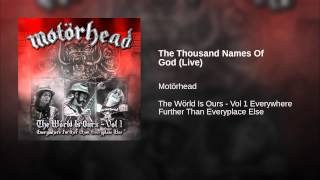 The Thousand Names Of God (Live)