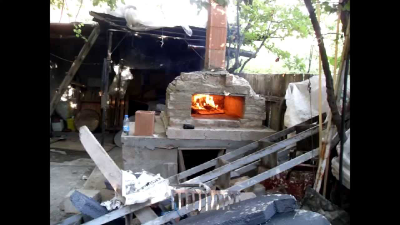 how to build a simple brick oven