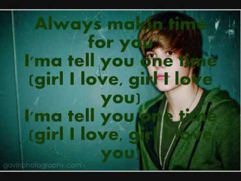 Justin Bieber - One Time: My Heart Edition: Official with lyrics and download link