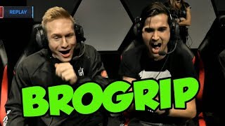 Gripex - REACTING TO MY ALL STAR TANDEM MODE LEE SIN PLAYS WITH BROXAH