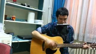 yıldızların altında mızıka gitar