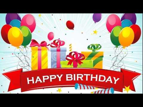 Happy Birthday Song English Chinese