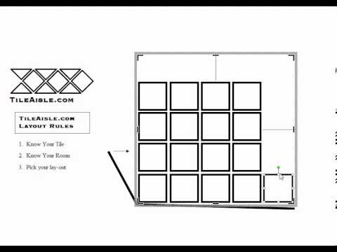 How to do a tile layout.