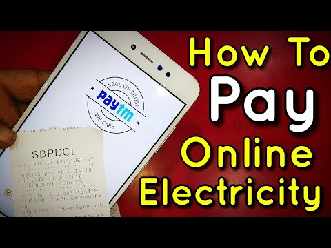How to Pay Electricity Bill Online Via PayTM | Hindi - हिंदी