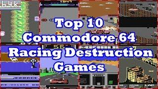 Top 10 Commodore 64 Racing Destruction Games