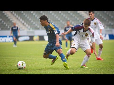 2013-14 Development Academy U-15/16 Championship: Real Salt Lake AZ vs. LA Galaxy Highlights