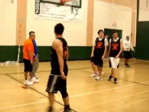 Old School Basketball Warm Up Game 3 - YouTube