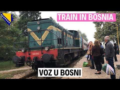 Local Train in Bosnia and Herzegovina | Pinay riding a local Train |